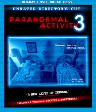 Paranormal Activity 3 Blu-Ray