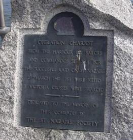 St. Nazaire Raid memorial