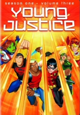 Young Justice Season 1, Vol. 3 DVD