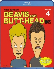 Beavis and Butt-Head Vol. 4 Blu-Ray