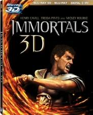 Immortals 3D Blu-Ray
