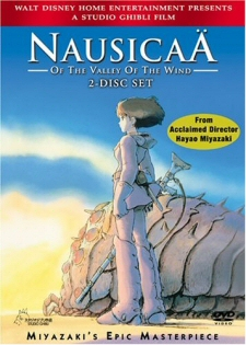 Nausicaa of the Valley of the Wind DVD