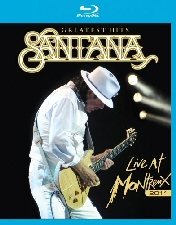 Santana Greatest Hits: Live at Montreux Blu-Ray