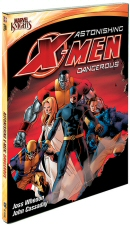Astonishing X-Men: Dangerous DVD