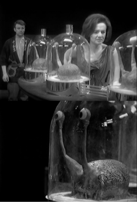 Doctor Who: Keys of Marinus: brains in jars