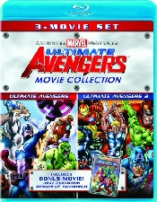 Ultimate Avengers Movie Collection Blu-Ray