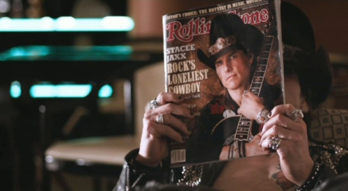 Tom Cruise as Stacee Jaxx in Rock of Ages