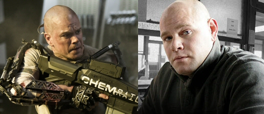 Matt Damon and Dominick Lombardozzi