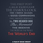 The World&#039;s End teaser poster