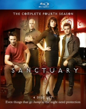 Sanctuary Season 4 Blu-Ray