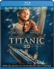 Titanic 3D Blu-Ray
