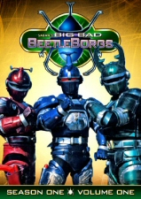 Big Bad Beetleborgs Season 1, Volume 1 DVD