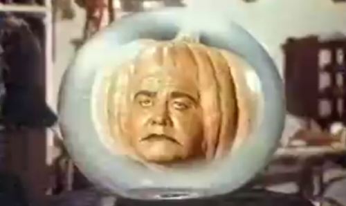 Jonathan Winters Pumpkin Head Disney Halloween Hall o Fame