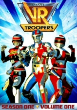 VR Troopers Season 1, Volume 1 DVD