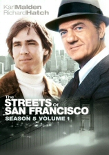 Streets of San Francisco Season 5, Vol. 1 DVD