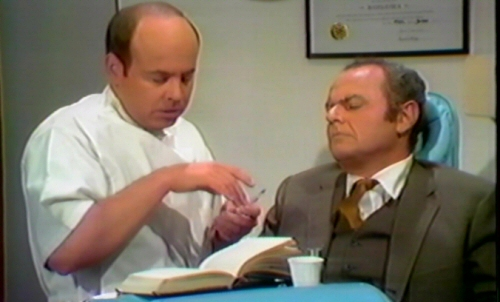 Tim Conway and Harvey Korman from The Carol Burnett Show: Dentist Sketch