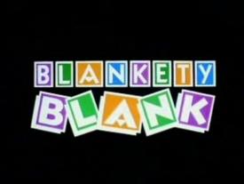 Blankety Blank Logo