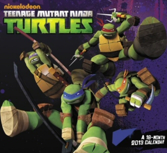 Teenage Mutant Ninja Turtles 16 Month 2013 Calendar