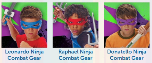 Teenage Mutant Ninja Turtles Combat Gear