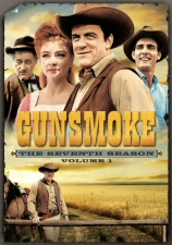 Gunsmoke Season 7, Vol. 1 DVD
