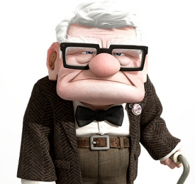 Carl Fredericksen from Up