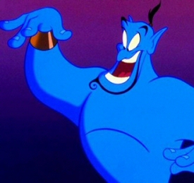 The Genie from Aladdin