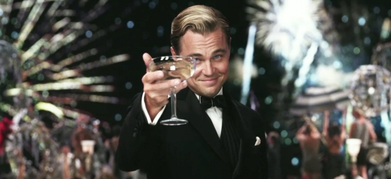 Leonardo DiCaprio as Jay Gatsby from The Great Gatsby 3D (2013)