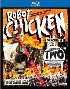Robot Chicken Season 6 Blu-Ray