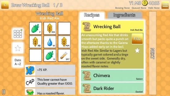 Fiz: Brewery Management Game screenshot