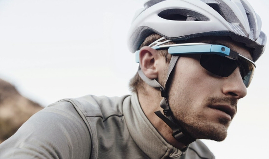 Google Glass Cyclist