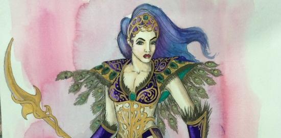 Love and Warcraft Princess Azareth Design