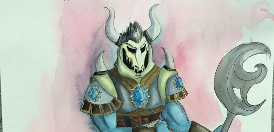 Love and Warcraft Shaman Design