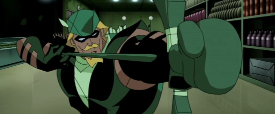 Green Arrow boxing glove