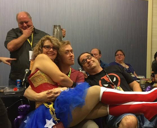 DragonCon 2014: Make the Bad Men Stop 2 with Leigh as Wonder Woman