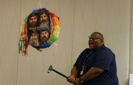Krispy Love vs. The Duck Dynasty Pinata