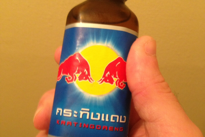 Krating Daeng, the original Red Bull