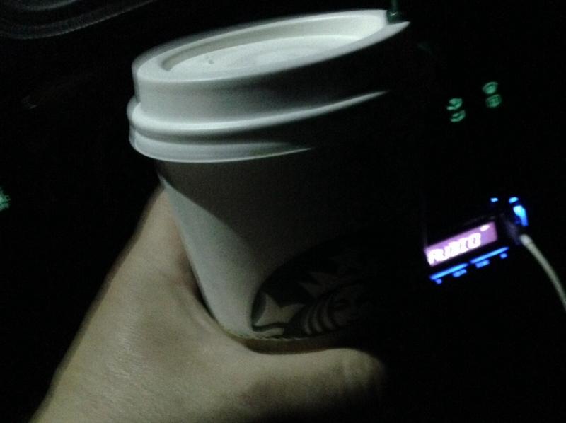 Starbucks after midnight