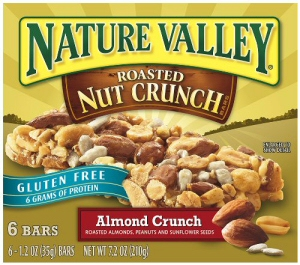 Nature Valley Roasted Nut Crunch Almond Crunch Granola Bars