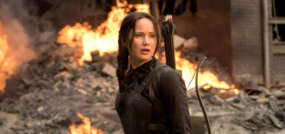 Jennifer Lawrence from The Hunger Games: Mockingjay Part 1