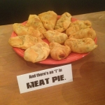 "And there's an ""I"" in ""MEAT PIE""..."