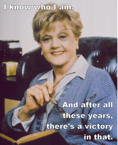 Angela Lansbury in... True Detective, She Wrote