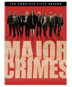 Major Crimes Complete Fifth Season DVD