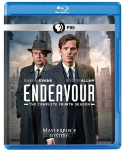 Endeavour Season Four Blu-ray