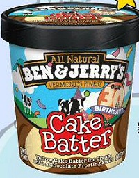 Cake Batter Ice Cream Ben And Jerry